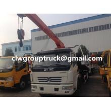 Hydraulic DONGFENG Duolika Wrecker Crane Truck