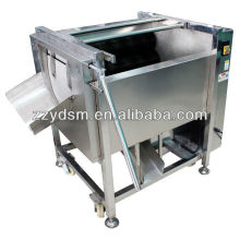 fresh ginger washing and peeling machine