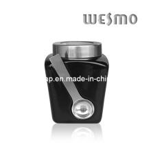 Керамическая емкость для хранения с ложкой (WKC0333G-L)