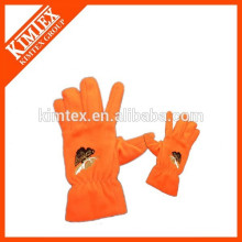 Embroidery Logo thinsulate fleece gloves