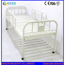ISO/Ce Approved Competitive Stainless Steel Flat Hospital Bed
