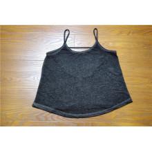 Klassische Blusen-Art 100% Frauen-Baumwollsommer-Frauen-Oberseite