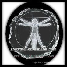 K9 Cristal Intaglio de Moule S009