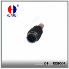 Hr-20312 Tuchel Plug-Male 7 Flat Pol