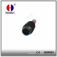 HR-20312 Tuchel Plug мужской 7 плоский пол
