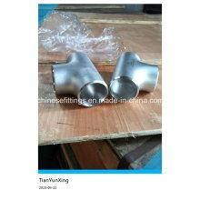 Прямая ASTM Wp304 Тройник бесшовных труб из нержавеющей стали