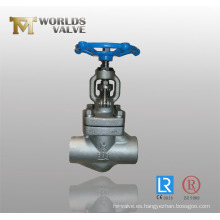 Válvula de mini globo de acero inoxidable