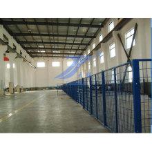 Покрынная PVC Загородка ячеистой мастерской