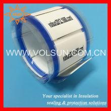 Marcadores de identificação livre do poliolefina dos acessórios do fio da etiqueta da marcação do halogênio 3: 1