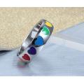 Создай свой собственный обручальное гей гей-кольца из нержавеющей стали