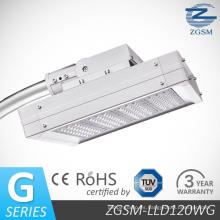 120W Zgsm marca CE RoHS TUV LED luces de la calle