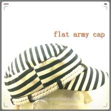 Zebra stripe nouveau style chapeau de l'armée falt et de haute qualité fabriqué en Chine