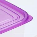 1000мл прозрачный японский пластиковый контейнер для продуктов с отверстиями для воздуха
