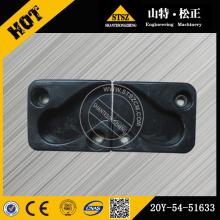 CAB FRONT WINDOW BLOCK 20Y-54-51633 - KOMATSU