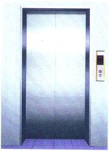 Decoración de ascensor, centro de pasajeros apertura puerta del aterrizaje