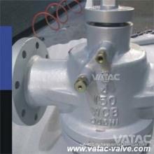 Из wcb/cf8/шариковый клапан cf8m смазанный Клапан штепсельной вилки с рычагом