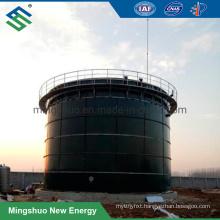 Enamel Steel Made Anaerobic Digestion Fermenter for Biogas Plant