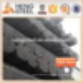 Tuyau en acier soudé noir