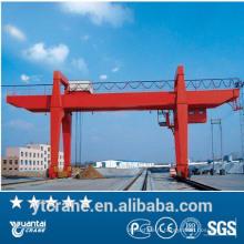 portique de 20 tonnes, grue de portique de conteneur, portique monté sur rail