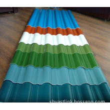 Prepainted Corrugated Steel Sheet for Roofing