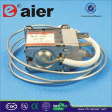 Doppel-Pole 6A 250VAC Temperaturregelung Refrigeration KW-2 Leistungsschalter mit Eisen Wries