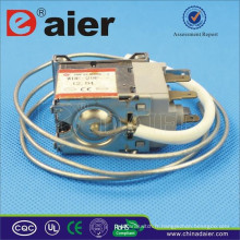 Le disjoncteur de la réfrigération KW-2 de contrôle de température de Polonais du double 6A 250VAC avec le fer Wries
