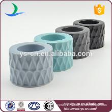 Современный дизайн керамический подсвечник для подарка