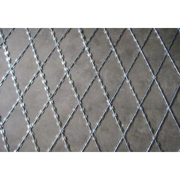 Hot dipped galvanized diamond dikimpal pagar dawai cukur