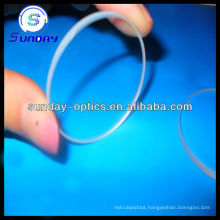 Round glass windows optical with coating