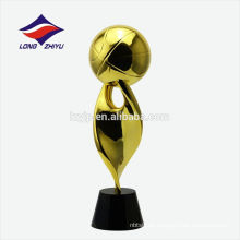 Überzug 24k Golden Trophy Custom Shinny Trophy Basketball Trophy