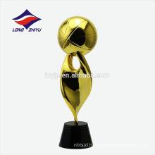 Plating 24k Golden Trophy Custom Shinny Trophy Basketball Trophy