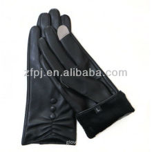 ladies dress goat leather gloves for iphone