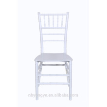 Weiße Farbe Monoblock Tiffany Stühle