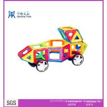 Imán de los niños Auto-ensamble el juguete educativo
