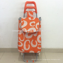 Collapsible fabric trolley bag sets