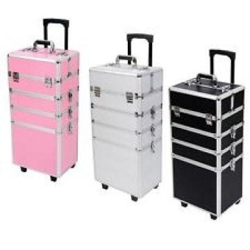Schönheit Kosmetik Schmink Fällen mit trolley