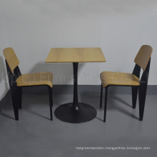 (SP-CT751) China Factory Restaurant Tables and Chairs Modern for Sale