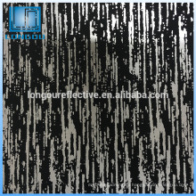 Мягкое тепло Светоотражающая ткань Knit полиэфира для одежды мода ткани