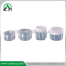 Plastic cream jar
