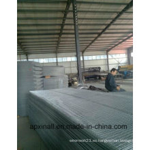 Work Shop Electro Galvanized Welded Wire Mesh Panel para construcciones y alambre de enlace Black Recocido Wire