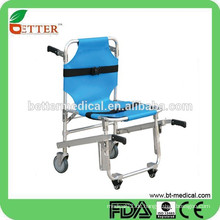 Aluminium Loading Ambulance Notfall Stair Stretcher Trolley