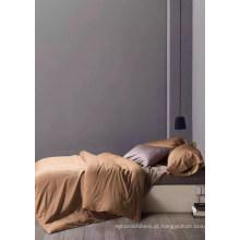 Alibaba fornecedor pele de pêssego escovado e tecido sólido tecido têxtil doméstico