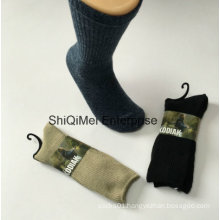 Wholesale Customized Combed Cotton Gentleman Men Business Socks