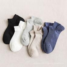 solid mesh ankle cut length mans breathable socks