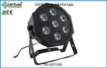 DMX 512 90W Full Color RGBW 4-in-1 LED Par Can Lights / LED