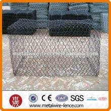 2015 shengxin Hot Sale Negative Twist Caliente Dipped galvanizado Hexagonal Wire Mesh, jaula de pollo revestido de PVC