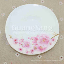 Productos de bajo costo Juego de cena de mariposas de porcelana