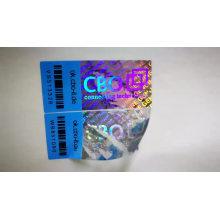 Customized Warranty tamper proof 3d hologram sticker
