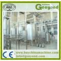 Linha de produção de leite de aço inoxidável automática Uht