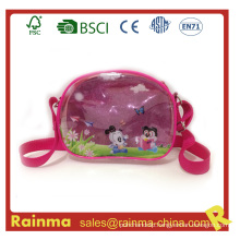 Transparent PVC Shoulder Bag for Girl